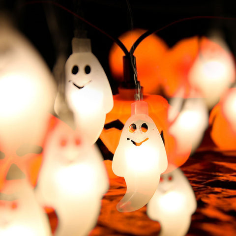 led halloween light garland
