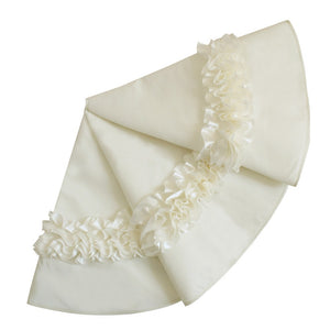 ivory rose tree skirt