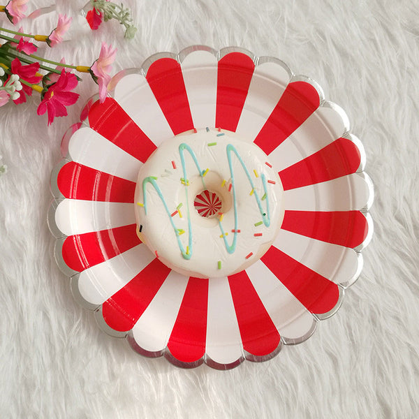 circus cupcake wrapper and picks