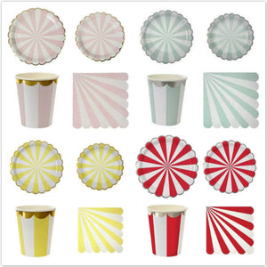 52 Piece Circus Tableware Set