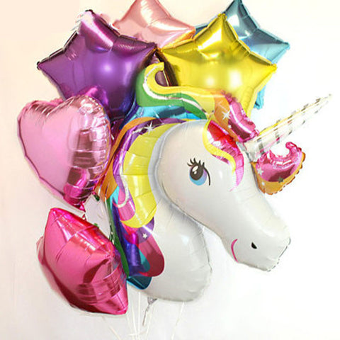 unicorn balloon bouquet