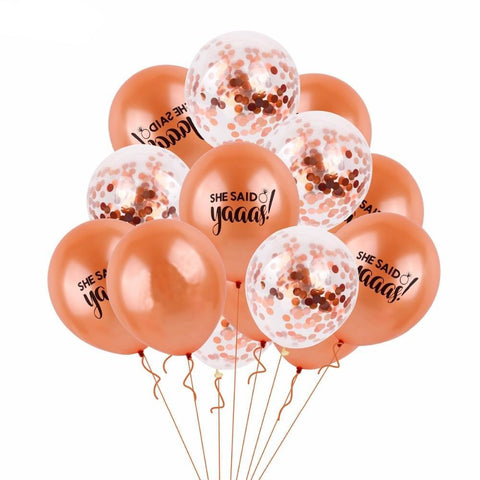 bridal balloon bouquets