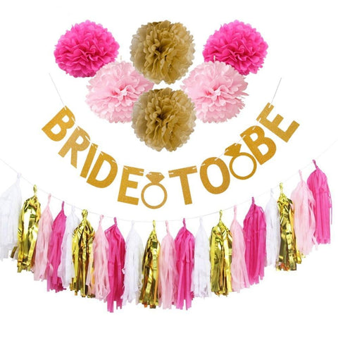 bride to be banner set