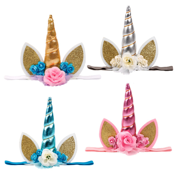 unicorn baby headbands