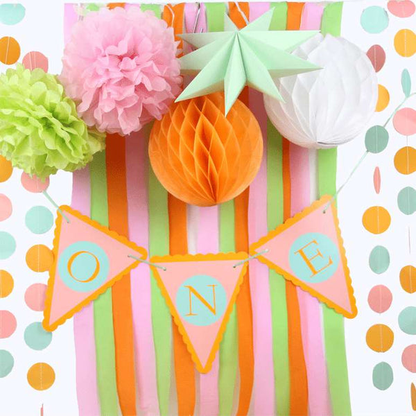 first birthday party set