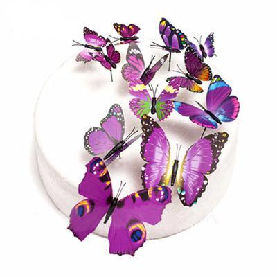 butterfly cake topper