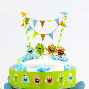 monster cake topper