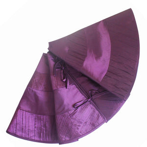 purple tree skirt