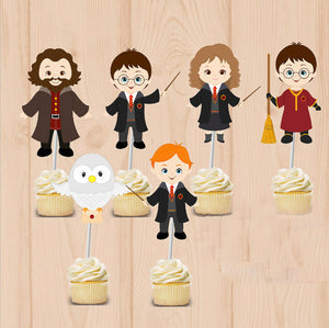 harry potter cupcake picks