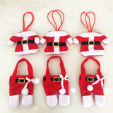 santa ornament gift card holder