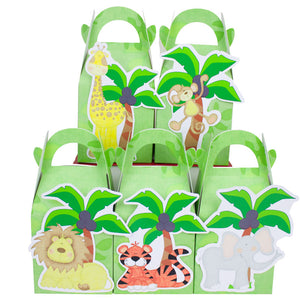 jungle party favor box