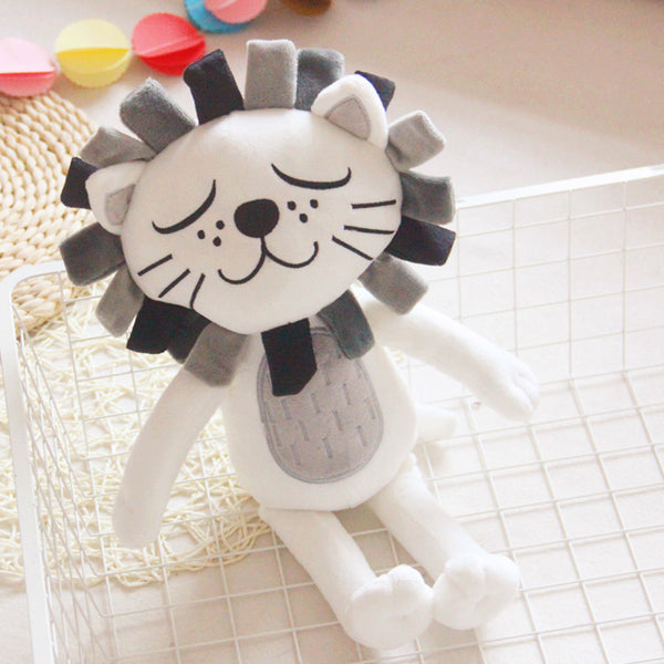 plush lion or cat