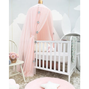 kids tulle canopy tent