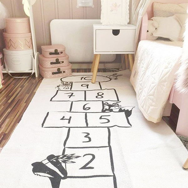 hop scotch rug