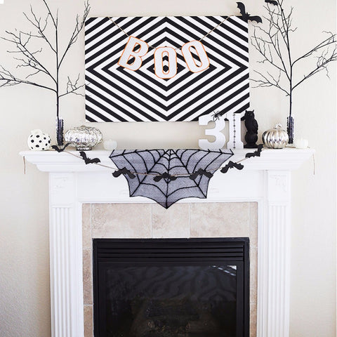 HALLOWEEN LACE DOILY