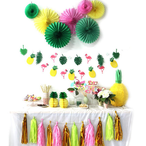 tropical party set
