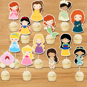 princess cake topper