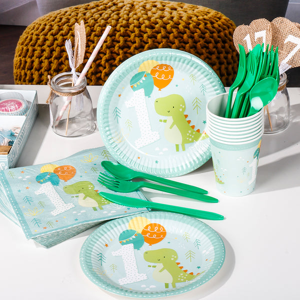 dinosaur tableware set
