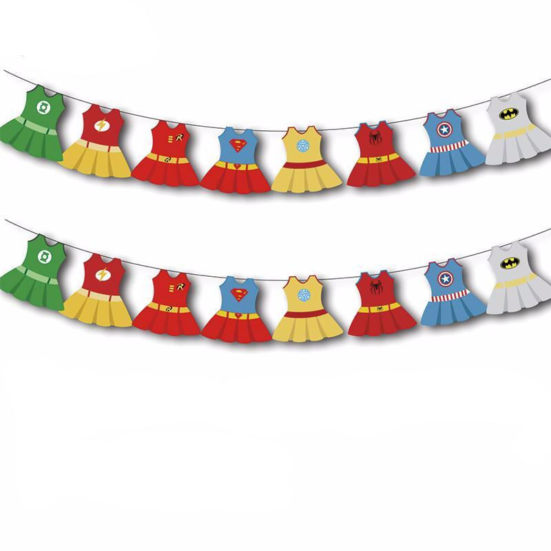 super girl dress banner