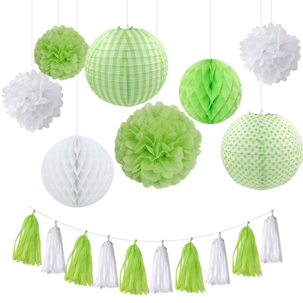 hanging party decor set