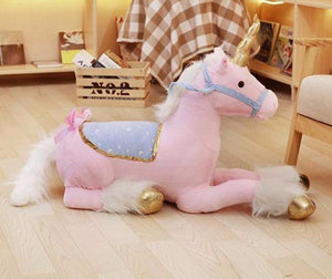 100cm plush unicorn