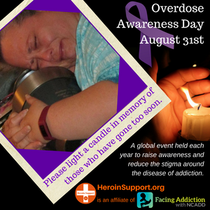 Overdose Awareness Day August 31st