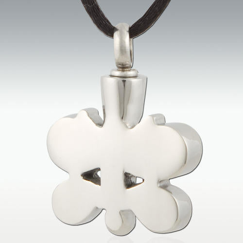 Pastello Butterfly Stainless Steel Cremation Jewelry-Engravable - HeroinSupport.org