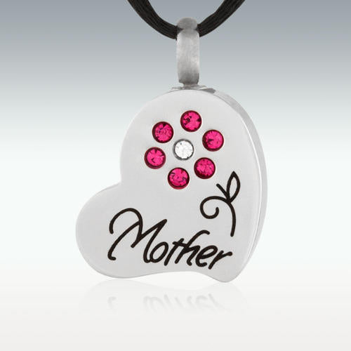 Mothers Garden Stainless Steel Cremation Jewelry-Engravable - HeroinSupport.org