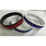 "Wristband - ""Warning: Heroin Kills - Friends Don't Let Friends Try It"" - HeroinSupport.org"
