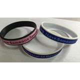"""I Love Someone Special In Recover Today"" - Wristband - HeroinSupport.org"