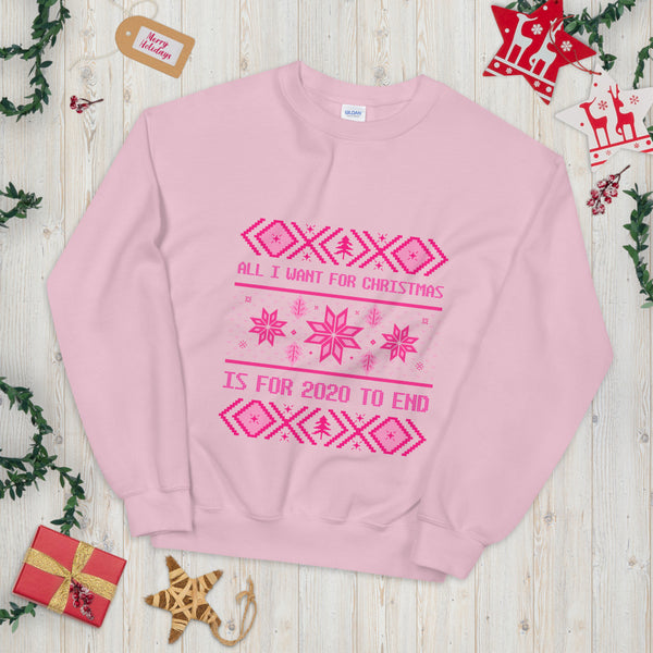 All I Want For Christmas - Pink