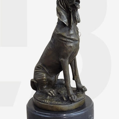 Bronze Sculptures & Figurines Featuring Dogs