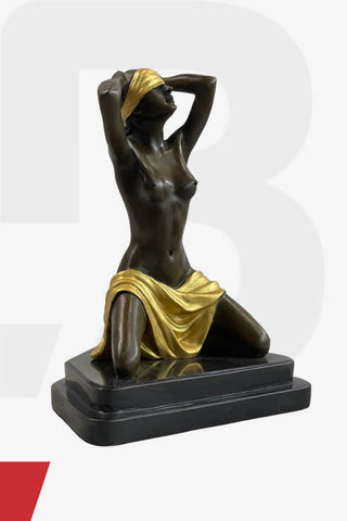 Erotic indian brass sculptues