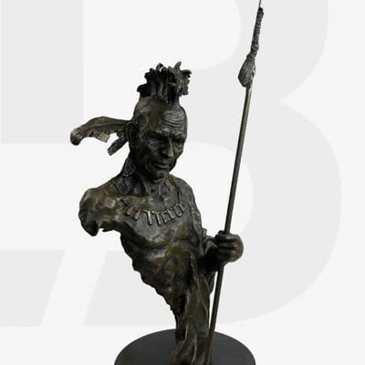 Native American Bronze Sculptures & Statues