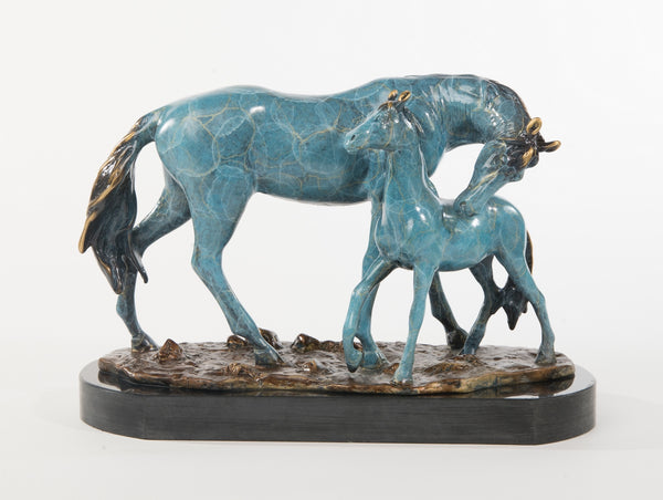 Arabian LTD EDT Show Horse Statue Equine Farm Art Bronze Marble Breeder Trophy