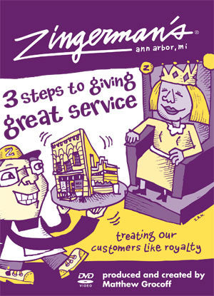 Training DVD: Zingerman's 3 Steps to Giving Great Service