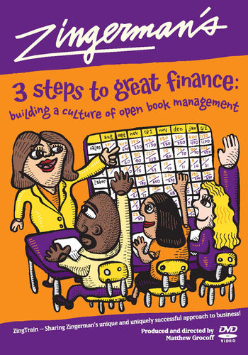 Training DVD: Zingerman's 3 Steps to Great Finance