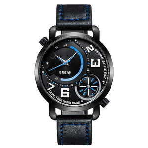 The Dual Break - Mens Quartz Watch