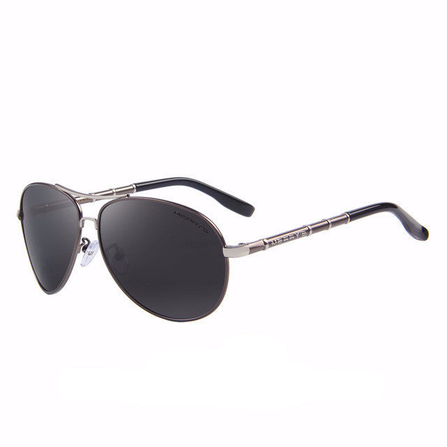 The Aviation - Men's Polarized Sunglasses with Case