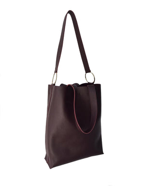 EVERYTHING TOTE MAROON