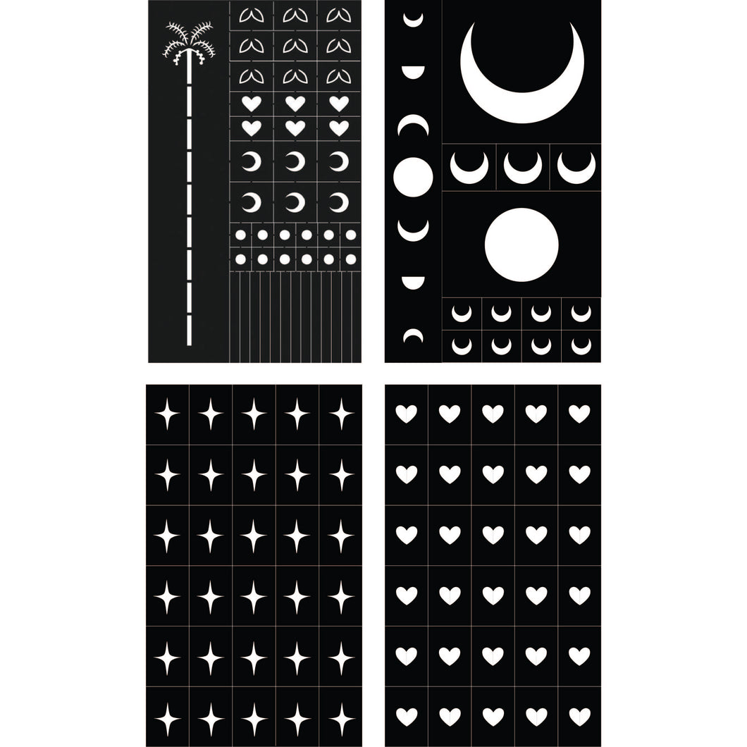 CLASSICS STENCIL STICKER PACK