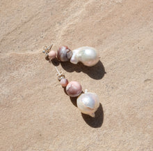 EARRINGS BAROQUE DOUBLE