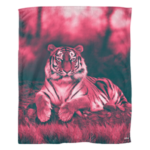 San Marcos Red Fleece Blanket