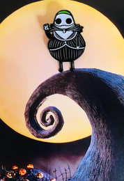 Guacardo Skellington pin