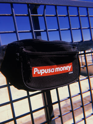 Pupusa Money Belt Bag