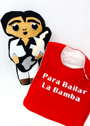 La Bamba Plush & Bib Bundle