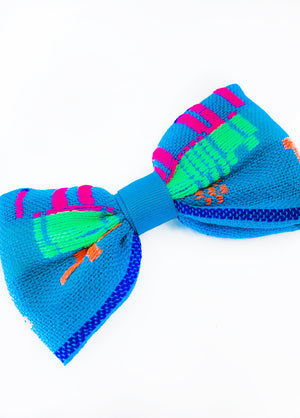 Kids Teal Hair Bow