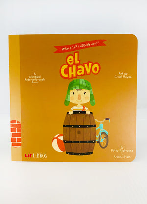 Where Is El Chavo? Book