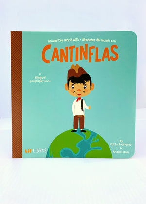 Around the World With Cantinflas Book