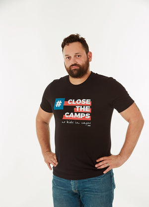#CloseTheCamps Charity Tee